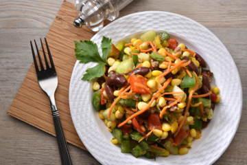Mexican vegetables salad %281%29